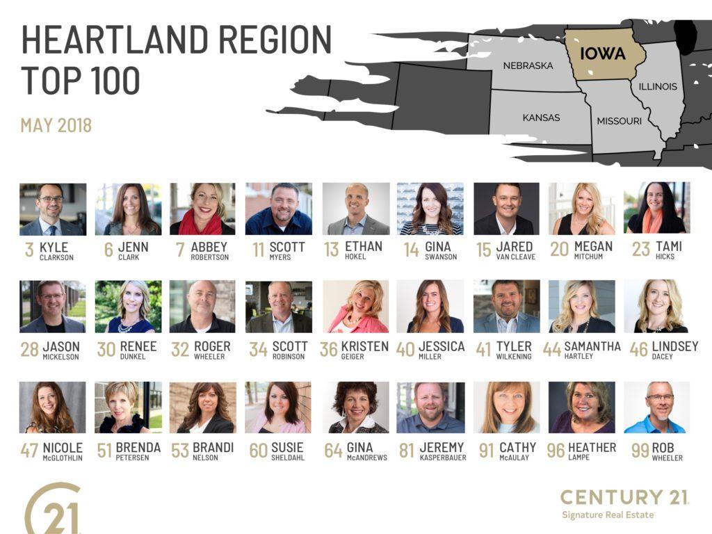 Heartland Region Top 100 Agents