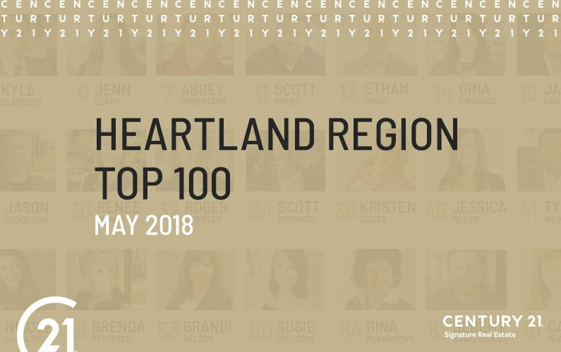 C21® Heartland Region Top 100 (May 2018)