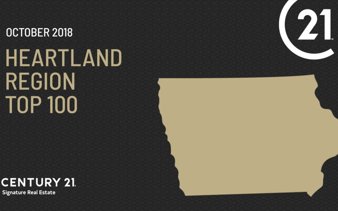 C21® Heartland Region Top 100 (October 2018)