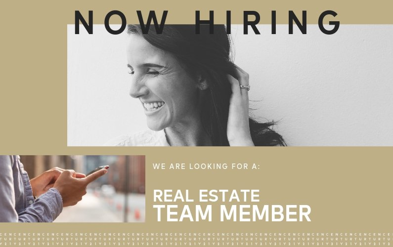 Now Hiring a Real Estate Team Member in Ankeny