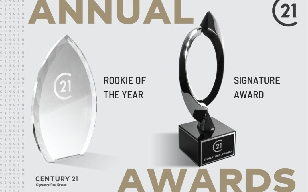 2019 Signature Award Recipient and Rookie of the Year
