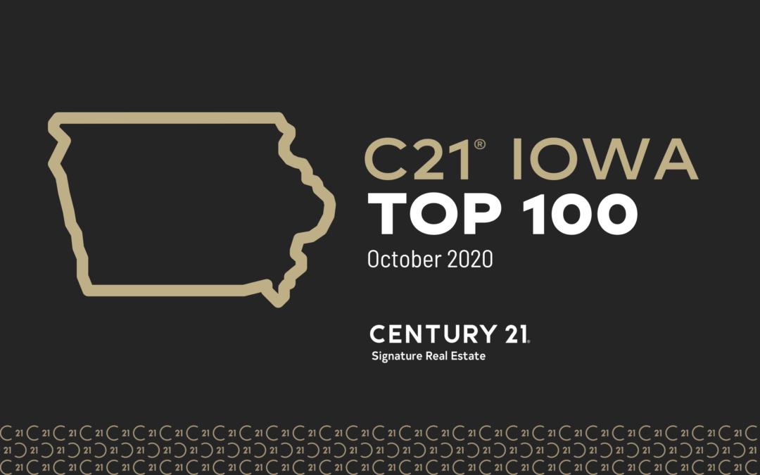 Century 21 Iowa Top 100 2020