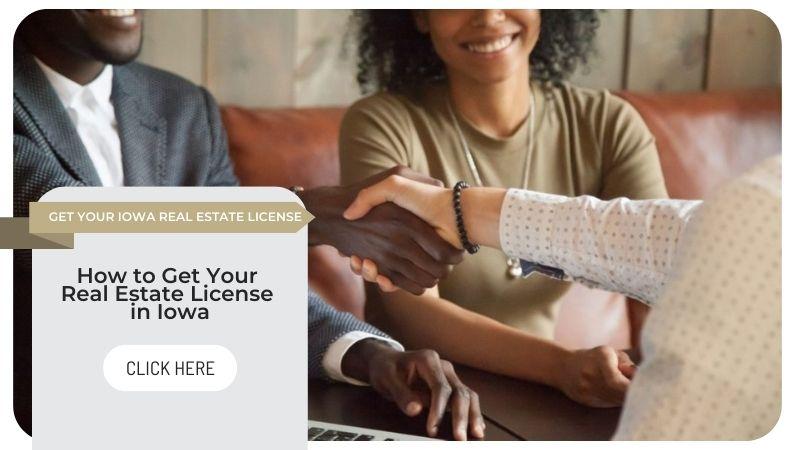 Iowa real estate license