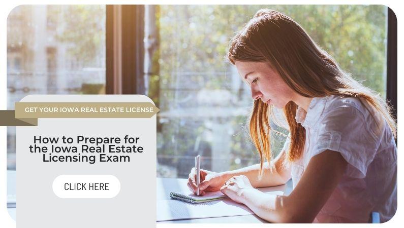 Iowa real estate licensing exam
